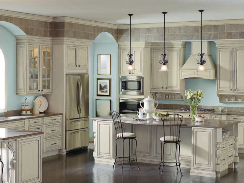 Diamond Selena Maple Cabinets